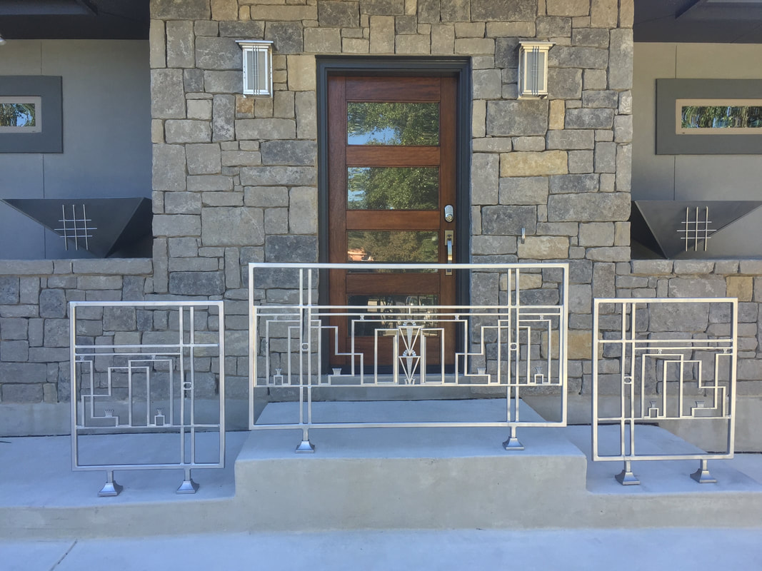 custom decorative iron work handrails San Antonio
