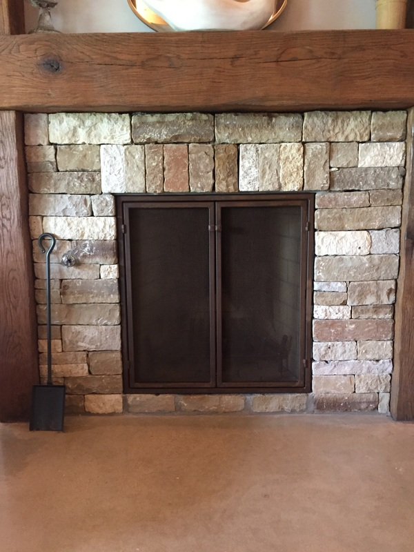 Custom fireplace doors San Antonio