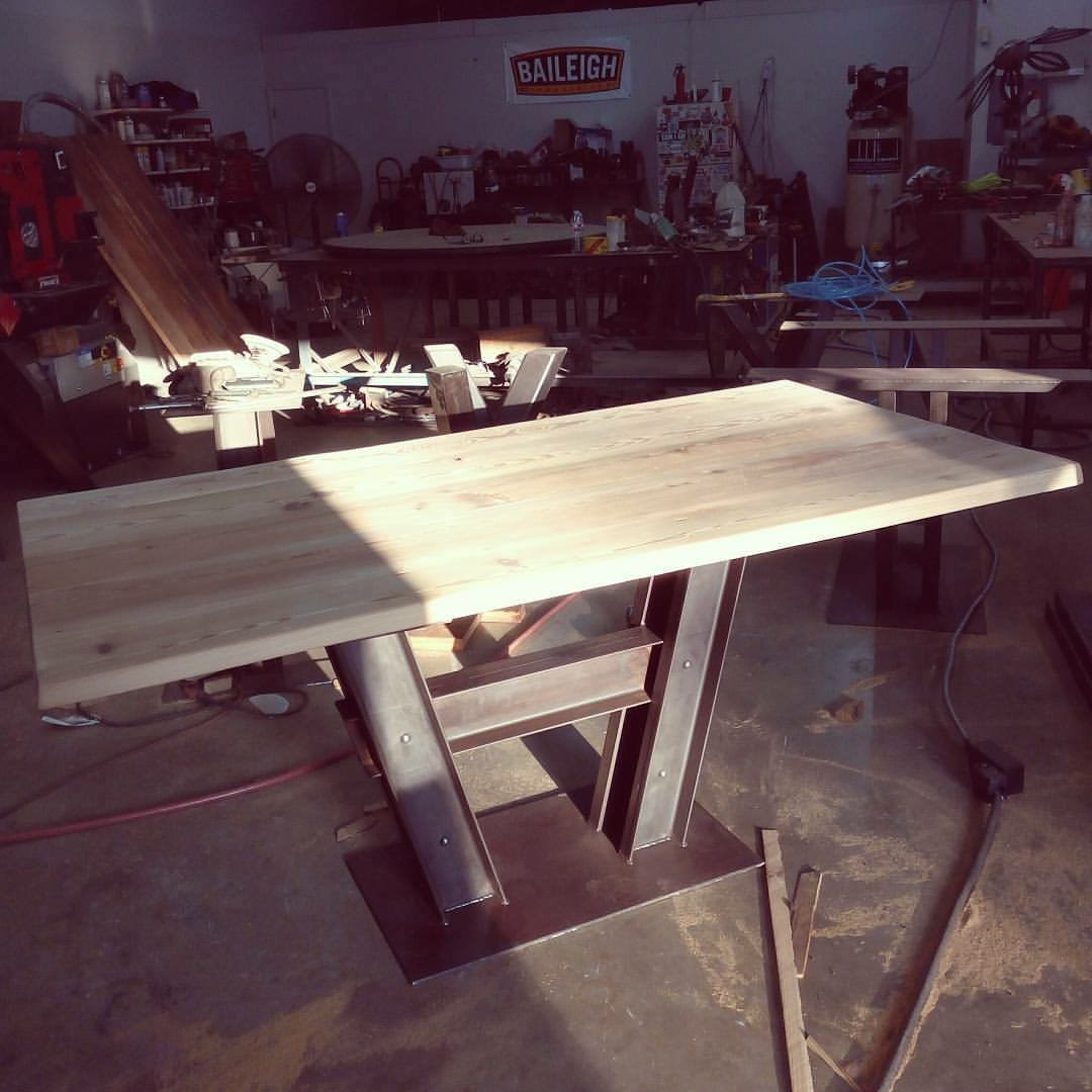 custom industrial tables San Antonio