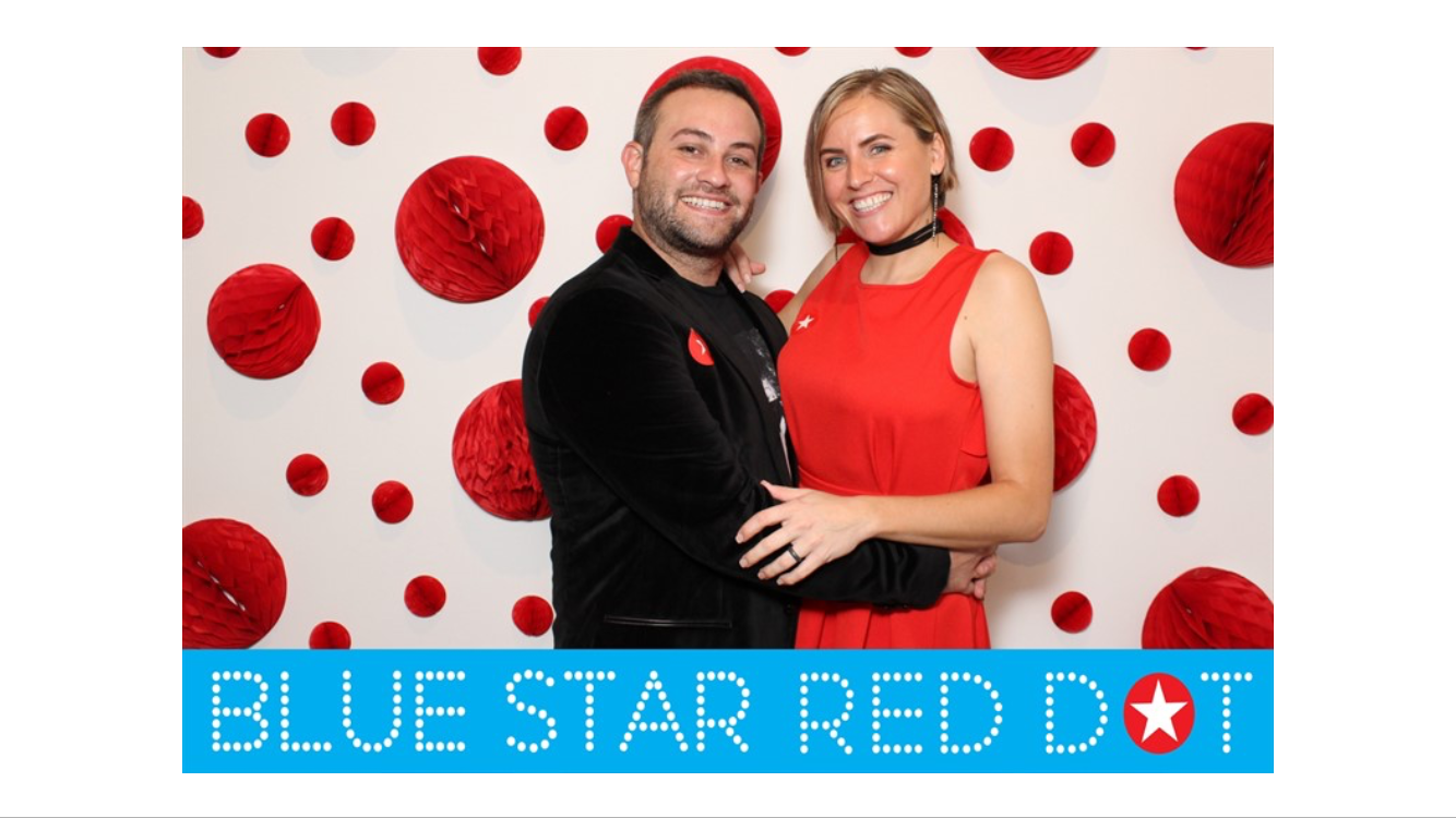blue star red dot sale San Antonio