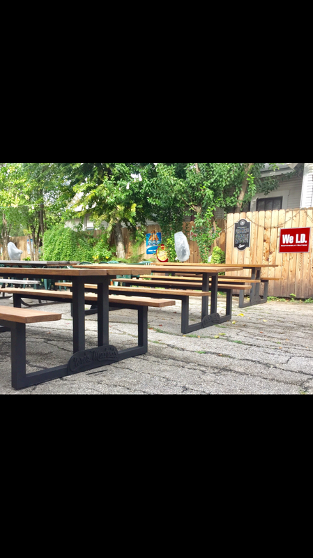 Custom picnic tables San Antonio