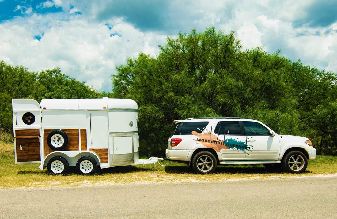 custom mobile bar trailer fabricators Texas