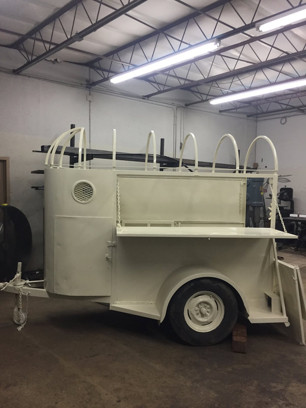 custom mobile bar trailers