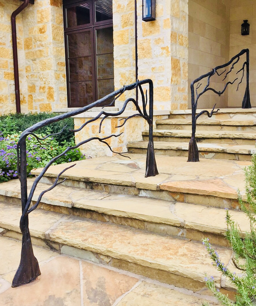 Custom luxury handrails San Antonio Texas