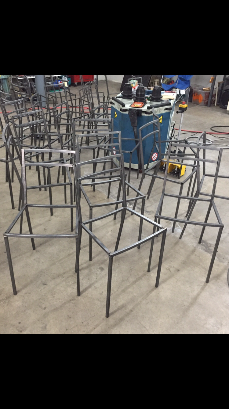 custom furniture Manufacturing Texas, furniture frames welded