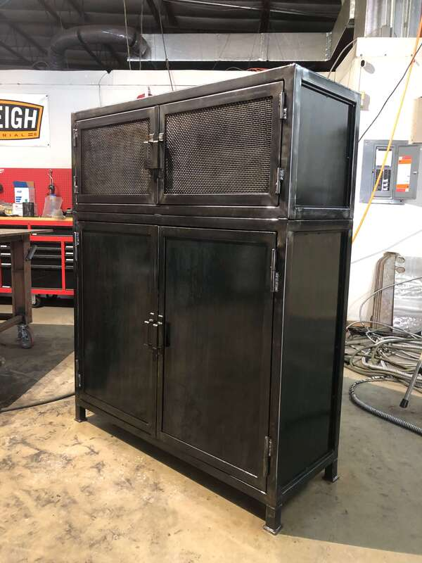 Custom furniture San Antonio, custom cabinets San Antonio, custom welding, industrial furniture, custom tables, dining tables, furniture maker san antonio