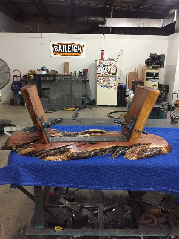 Our story custom tables welding iron work and art san for Custom t shirt printing san antonio
