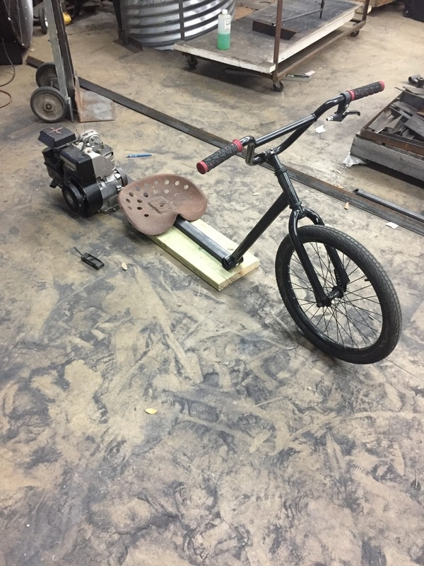 custom made drift trike welded
