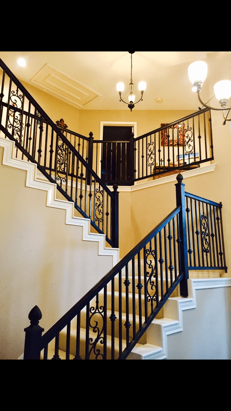 custom iron handrails San Antonio and custom iron work