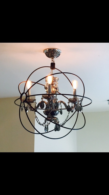 handmade light fixture Texas