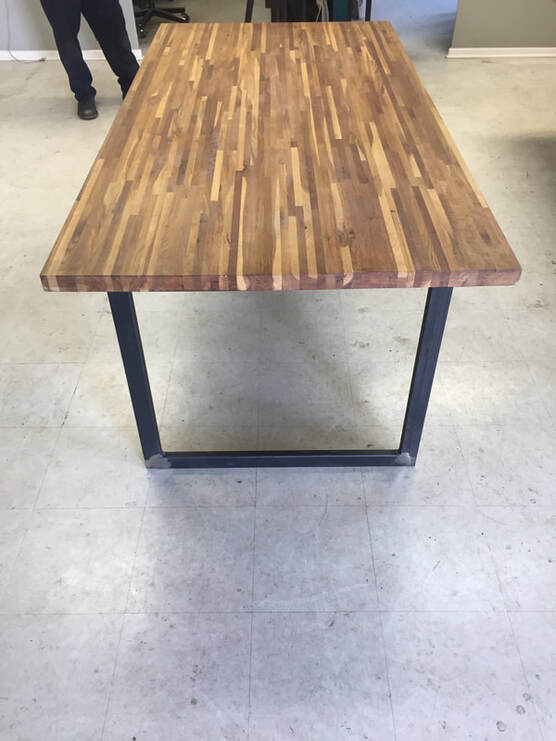 custom tables San Antonio, custom built office desks, custom office furniture, custom furniture manufacturing, custom ironworks San Antonio