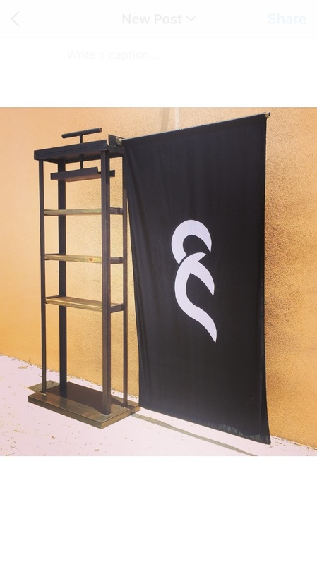 Custom Trade show displays and clothing racks Texas