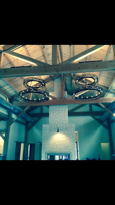custom rustic chandeliers Texas