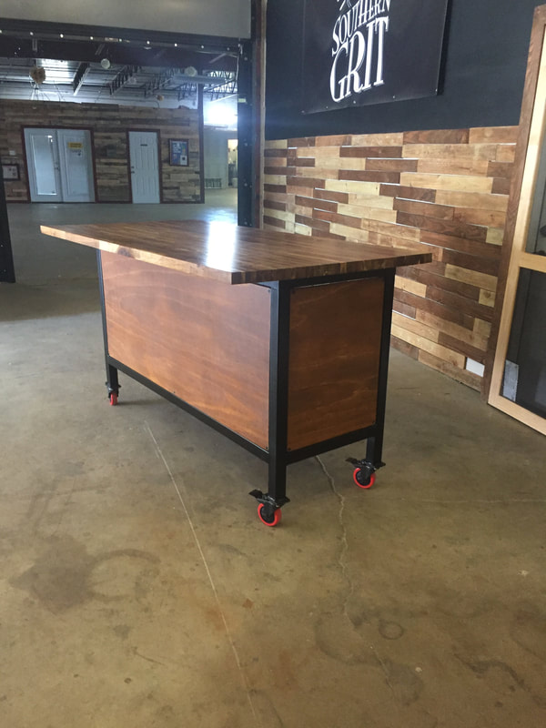 custom bar carts