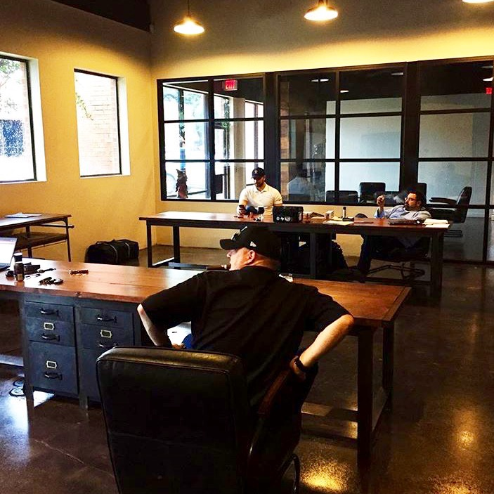 custom iron office furniture San Antonio and Austin