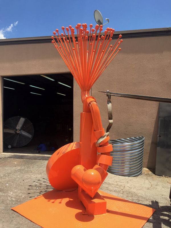 public art fabrication Texas